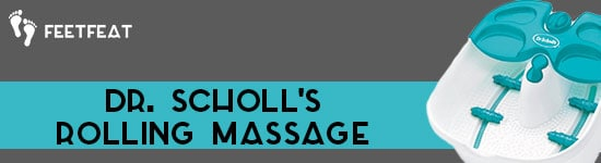 Dr Scholl's Rolling Massage Banner