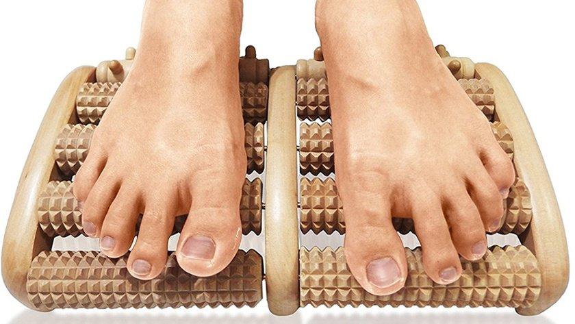 TheraFlow Dual Foot Massager Roller